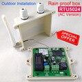 Непромокаемая версия RTU5024 GSM Открыватель ворот реле дистанционного управления доступом по бесплатному вызову Поддержка приложения