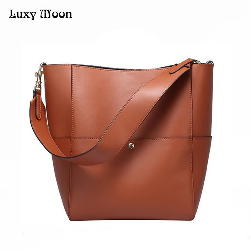 Luxy Moon Women Bag Genuine Leather Composite Bag Women s Handbag Fashion