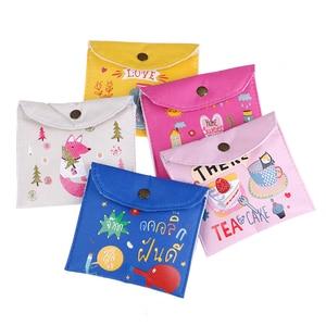 Image 3 - 1PC NEW Sanitary Towel Napkin Pad Tampon Purse Holder Case Bag Organizer Pouch Girls Feminine Hygiene Portable Mini Bag