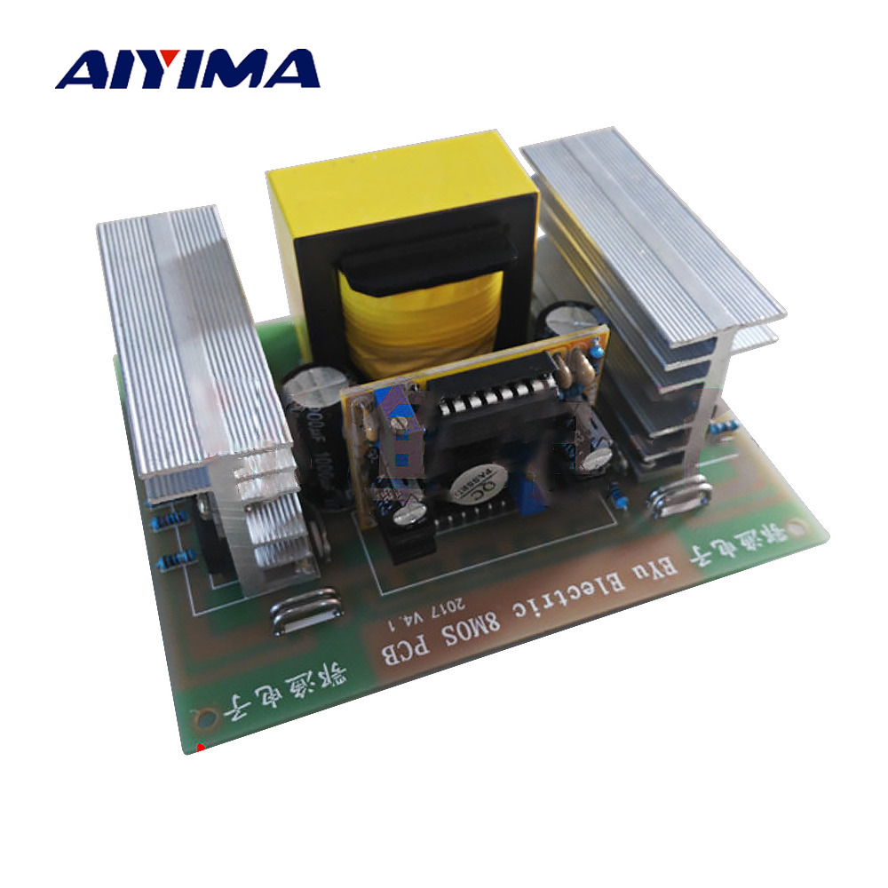 Aiyima DC To AC Inverter Board High Power Inversor EE42 20 Pre level Board Hand Made