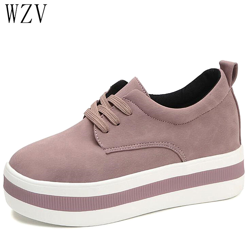 2019 Spring Women Flats Sneakers Shoes Moccasin Fashion Casual Shoes Creepers Shoes Lace-up Lady Loafers Ladies Platform Shoes2019 Spring Women Flats Sneakers Shoes Moccasin Fashion Casual Shoes Creepers Shoes Lace-up Lady Loafers Ladies Platform Shoes