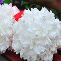Rosa Ramos de Novia para la Fiesta de la Decoración de Flores de Seda Artificial Flores de La Boda ramo de la boda Artificial de La Novia Manos Que Sostienen