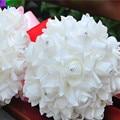 Rose Bridal Bouquets for Party Decoration Artificial Silk Flower Bride Artificial Hands Holding Wedding Flowers wedding bouquet