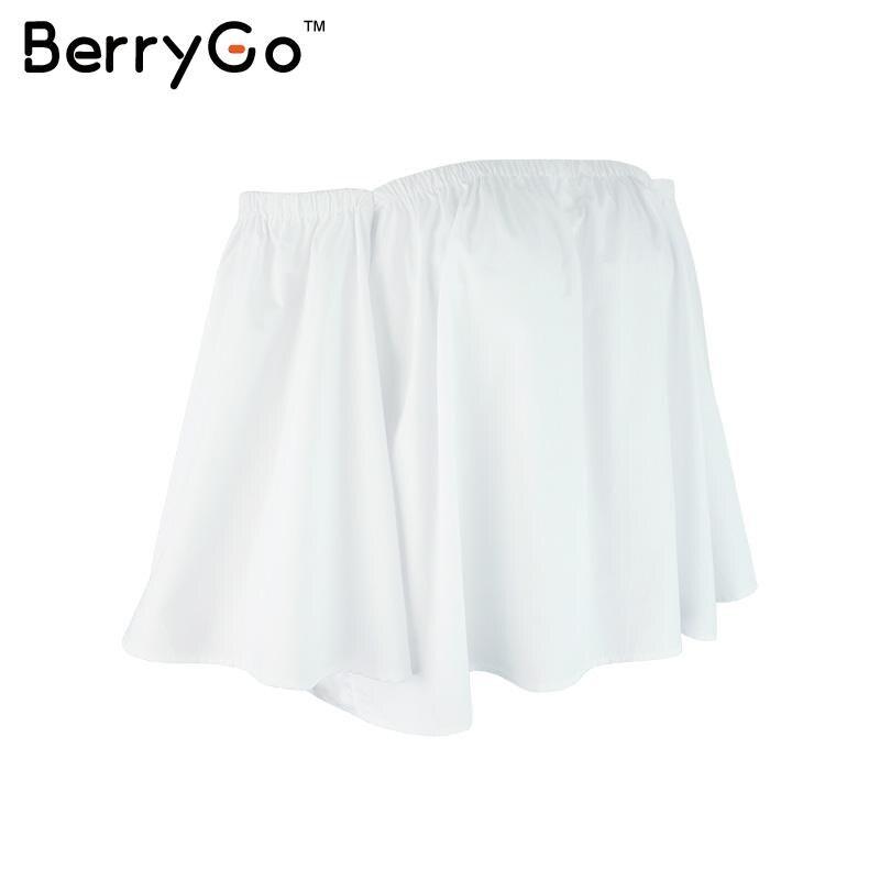 HTB1Sxs3KVXXXXbpXVXXq6xXFXXXP - Sexy off shoulder white blouse women Ruffle PTC 95