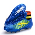 Authentic Men Soccer Boots Boys Indoor Soccer Shoes TF Spike Artificial Turf Match Training Shoes Big Size 34-44 #B2247