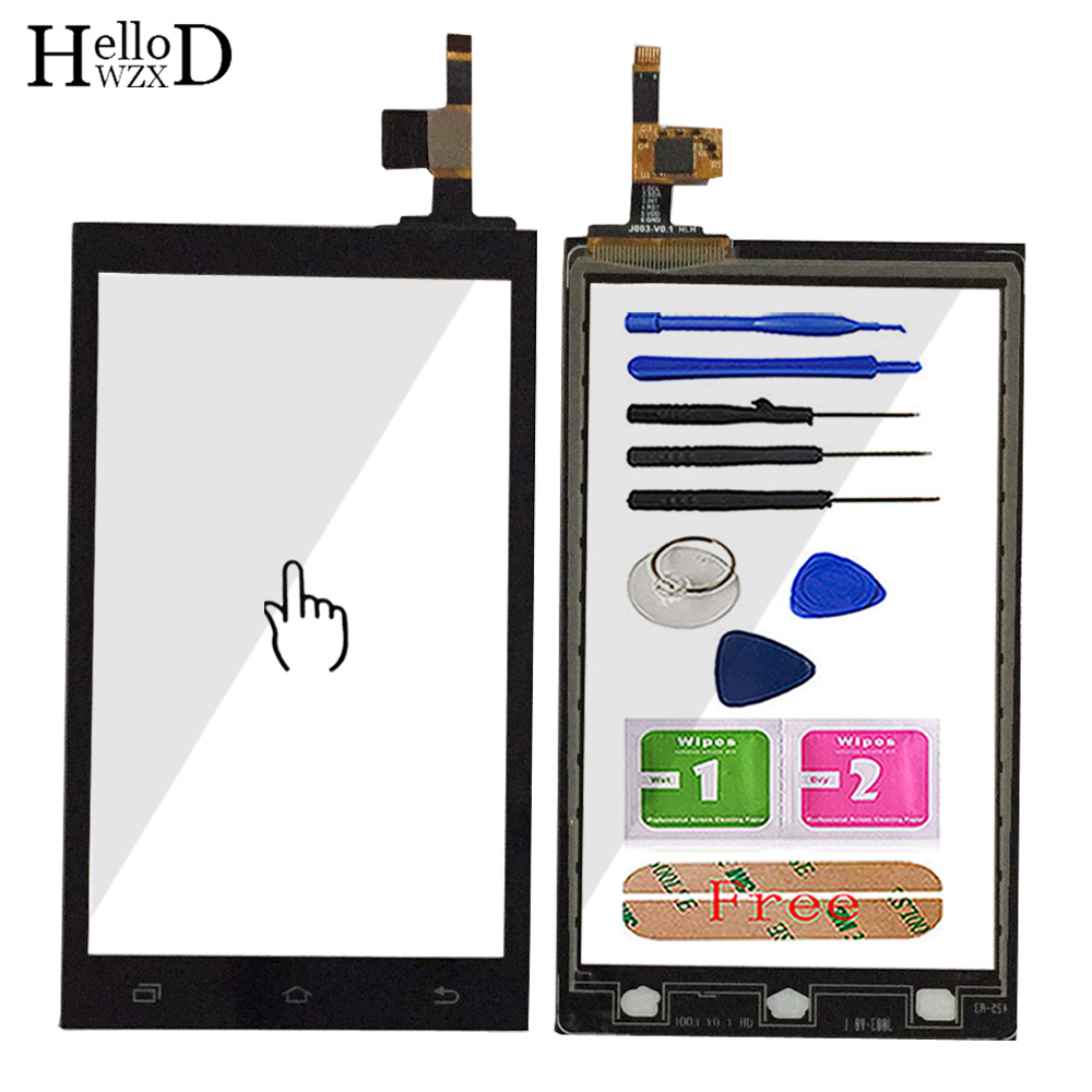 Mobile Phone Touch Glass TouchScreen For X-BO M2 M3 / M8 4.3'' / M8 4.5'' Touch Screen Glass Digitizer Panel Sensor Adhesive
