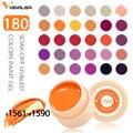 Venalisa UV Gel New 2019 Nail Art Tips Design Manicure 180 Color UV LED Soak Off DIY Paint Gel Ink UV Gel Nail Polishes Lacquer