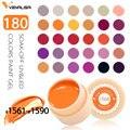 Venalisa UV Jel Yeni 2019 Nail Art İpuçları Tasarım Manikür 180 Renk UV LED Kapalı Islatın DIY Boya jel mürekkep UV jel Tırnak Cila Cila