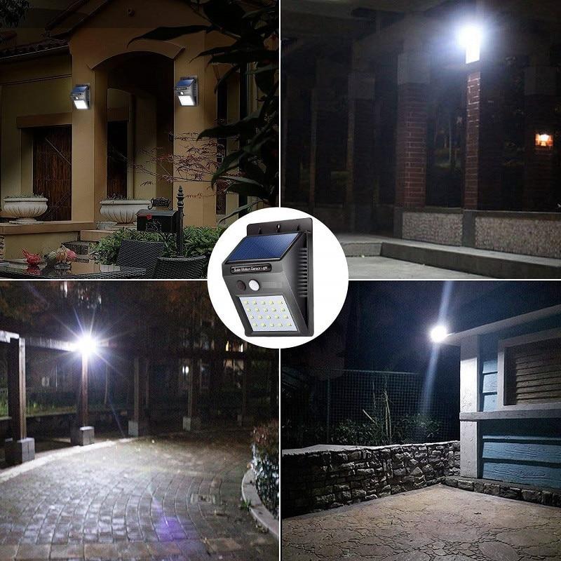LED Sensor Night Lights with Motion Sensor Wireless Wall Lamp Outdoor Waterproof Solar Garden Streets Light Road Auto Night Lamp (11)