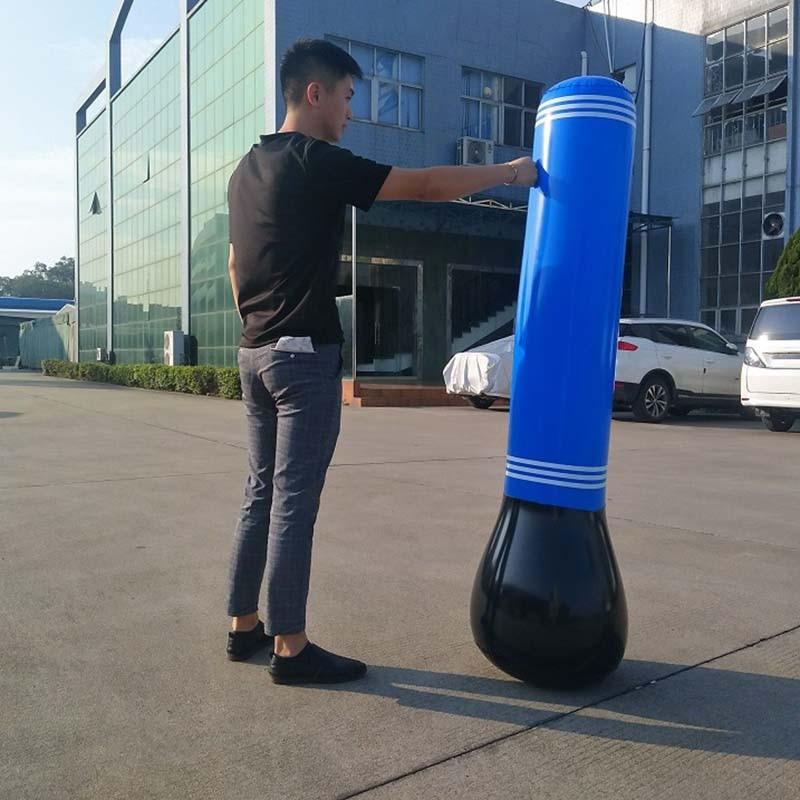Newly Inflatable Punching Bag Tumbler Training Fitness