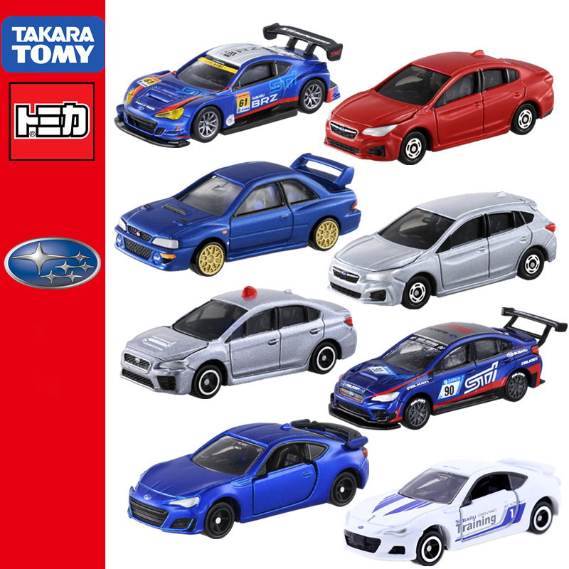 Tomica Subaru Serie BRZ WRX STI 4 Forester Revogu Type S Impreza 22B  Takara Tomy Special Limited Diecast Model Metal Collection