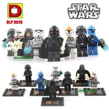 Star Wars 7 The Force Awakens Palpatine Darth Sidious Minifigure Storm Trooper Building Block Toy DLP9018 DIY Kids Toys Gift