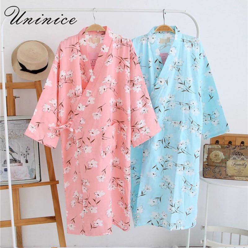99396856cb 2017 Cotton Yukata Japanese Kimono Traditional Mens Clothing Japan Pajamas  Mens Sleepwear Lounge Home Clothing Suits 062512