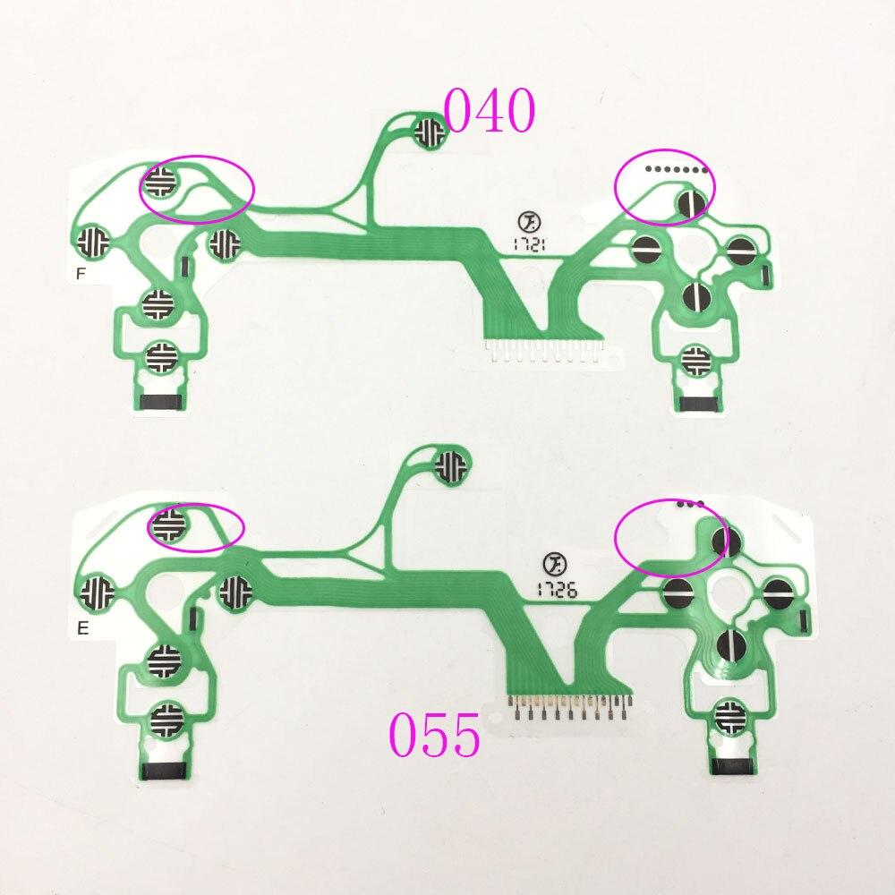 50 Pcs Conductive Film Keypad For Playstation 4 Ps4 Pro Slim Controller Repair Parts Pcb Ribbon Circuit Board M Type Ps2 10pcs V4 V5 Sheet Internal Dualshock 040