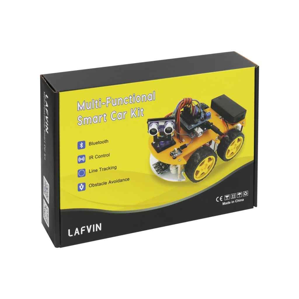 Avoidance Tracking Motor Smart Robot Car Chassis Kit 2WD Ultrasonic Arduin YT