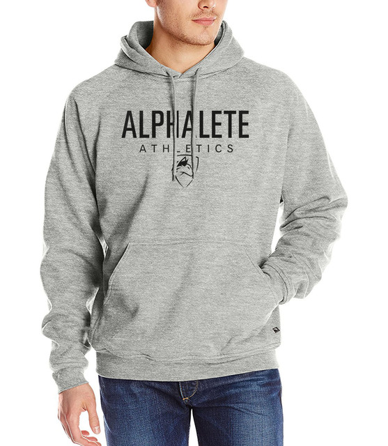 Men 2017 Autumn Winter fashion Alphalete sweatshirt male casual fleece kpop Hoodies harajuku fitness hip-hop brand tracksuits pp
