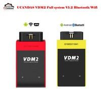 UCANDAS VDM2 Full System V5.2 Bluetooth/Wifi OBD2 VDM II for Android VDM 2 OBDII Code Scanner better than Easydiag