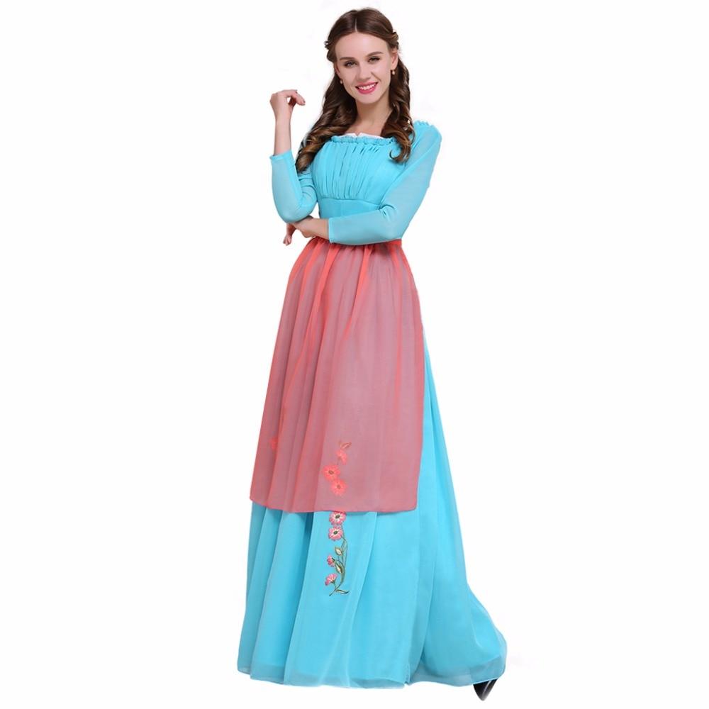 Cosplaydiy Custom Made Cinderella Maid Dress Adult Women Maid Fancy Party Cosplay Costume