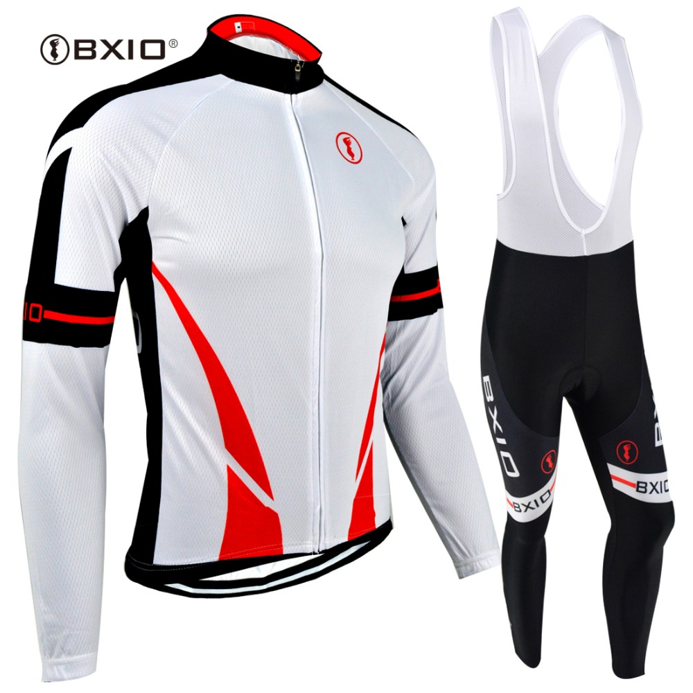 BXIO Winter Thermal Fleece Long Sleeve Cycling Jersey Sets/Jacket/Skinsuit Clothing Bike Bicycle Wear Fabric Ciclismo 142 black thermal fleece cycling clothing winter fleece long adequate quality cycling jersey bicycle clothing cc5081