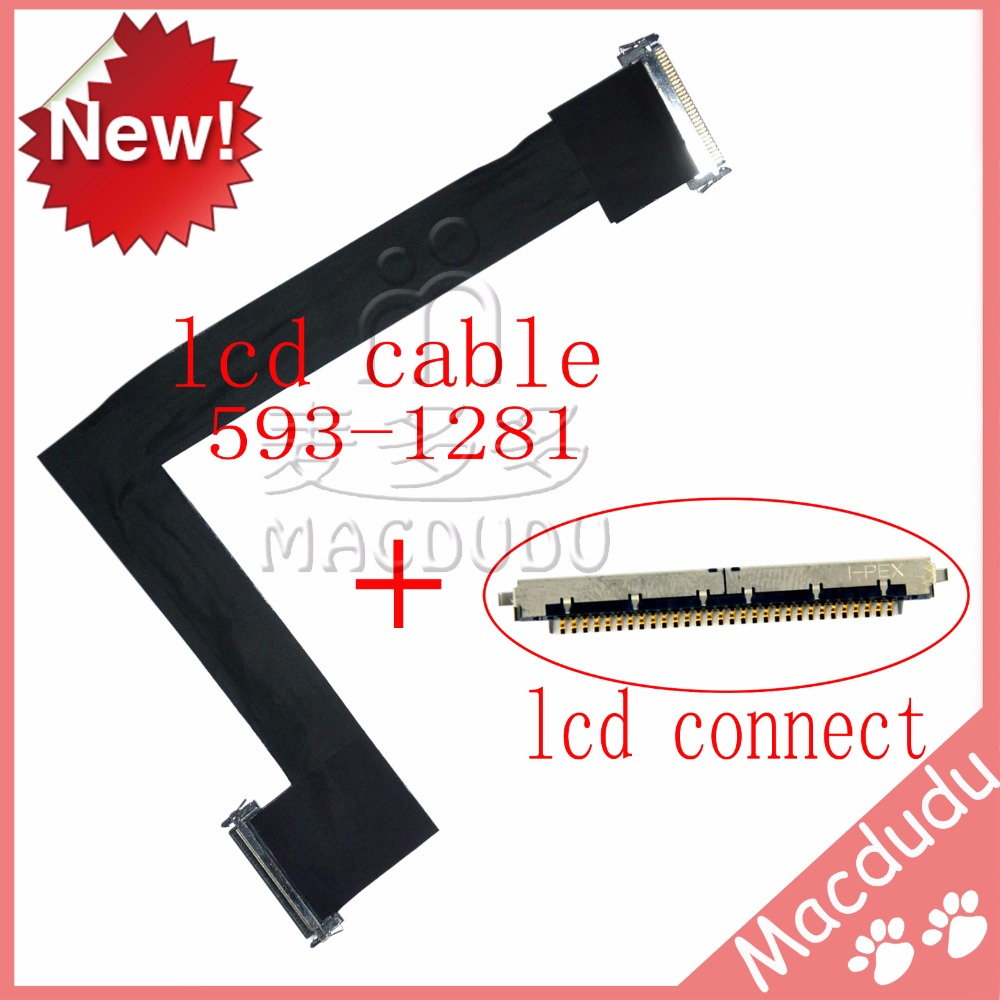 NEW LCD Video Display Cable With Connector For iMac 27 A1312 2010 year 593-1281-A scarlett sc 1337s