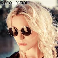 2018 Ray Brand Steampunk Designer Classic Polarized Driving Round Sunglasses Men Retro Glasses Women Metal Fashion