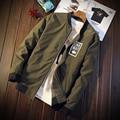 M-3XL Stand Collar Military Jacket Men Army Business Thin  J3157 Bomber Jacket Men Veste Homme Chaquetas Hombre