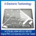 Original Novo A1278 Tela Lcd Completo Com Tampa Do Caso Assembly Para Apple Macbook Pro 13 ''2012 MD313 MD101 MD102 MD314