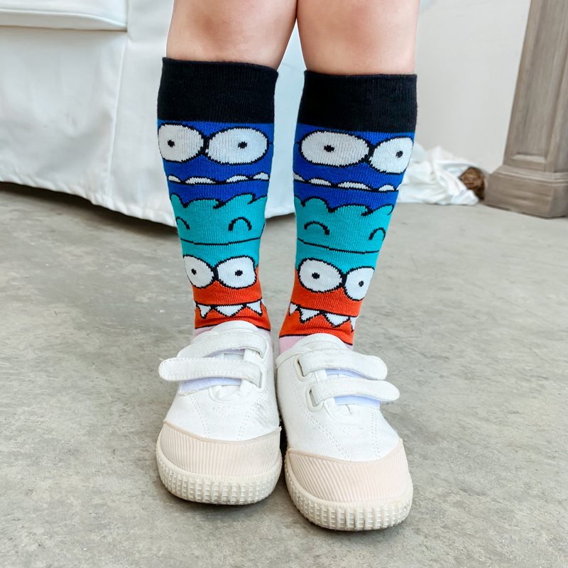 NEW ARRIVAL! High Quality Girls Pure Cotton Socks Kids Short Toddle Knee High Socks For Girl Boy Child Long Socks