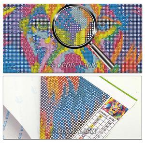 REDIY LADIY полная квадратная Алмазная вышивка рукоделие 5D DIY алмазная живопись абстрактная живопись Комнаты Настенный декор вышивки крестом ка...