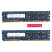 Desktop Memory Lifetime Warranty For Hynix DDR3 2GB 1333MHz PC3 10600U 1333 4G Computer RAM 240PIN