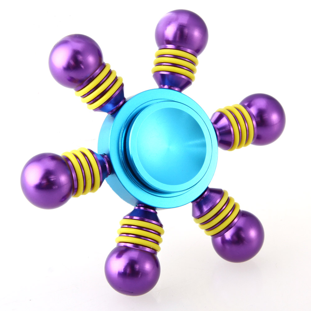 2017 New Fidget Spinner Hand Spinner Alloy Spinner For Autism and ADHD Anti Stress Toys Stress