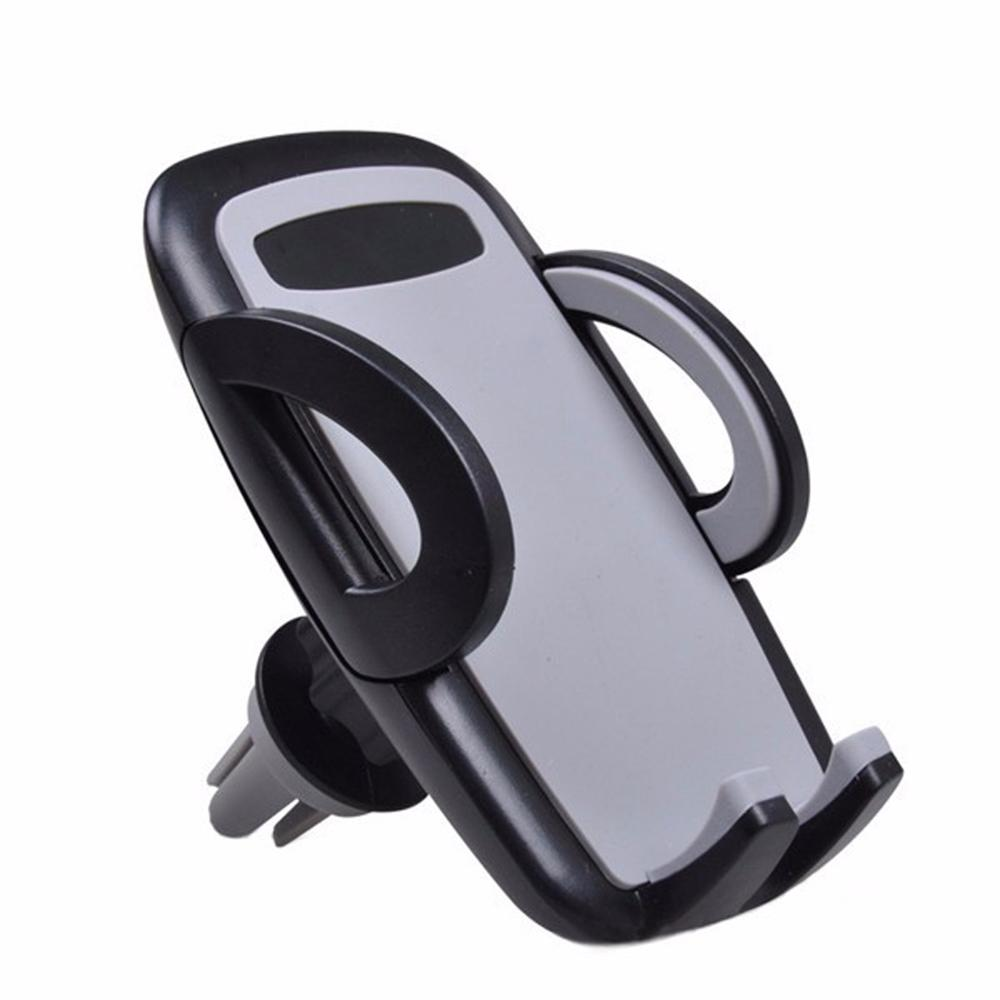 Мобильный телефон Автомобильный держатель Смартфон Авто GPS аксессуар Крепление стенд Air Vent Телефон держатель для iPhone 5S 6 S 7 Samsung