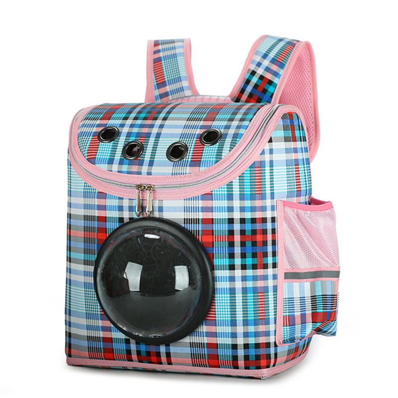 Luxury Small Pet Backpack Carrier Dog Shoulder Bag Cat Puppy Mobile Bed Airplane Carrier Car Seat Travel Tote Cage Space Capsule