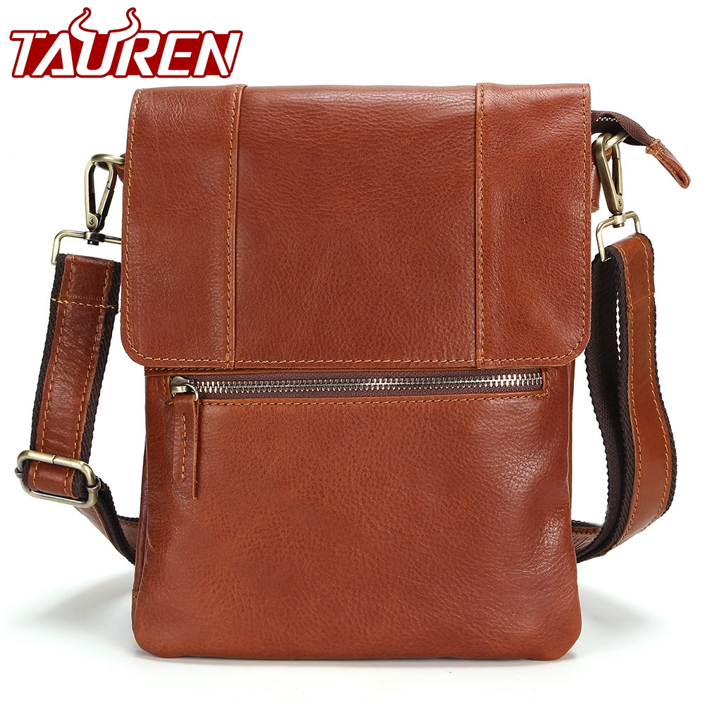 100% Leather Vintage Fashion Mens Leather Bag Casual Business Mens Bag High Quality New Mens Travel Crossbody Bag Promotion new high quality vintage casual 100