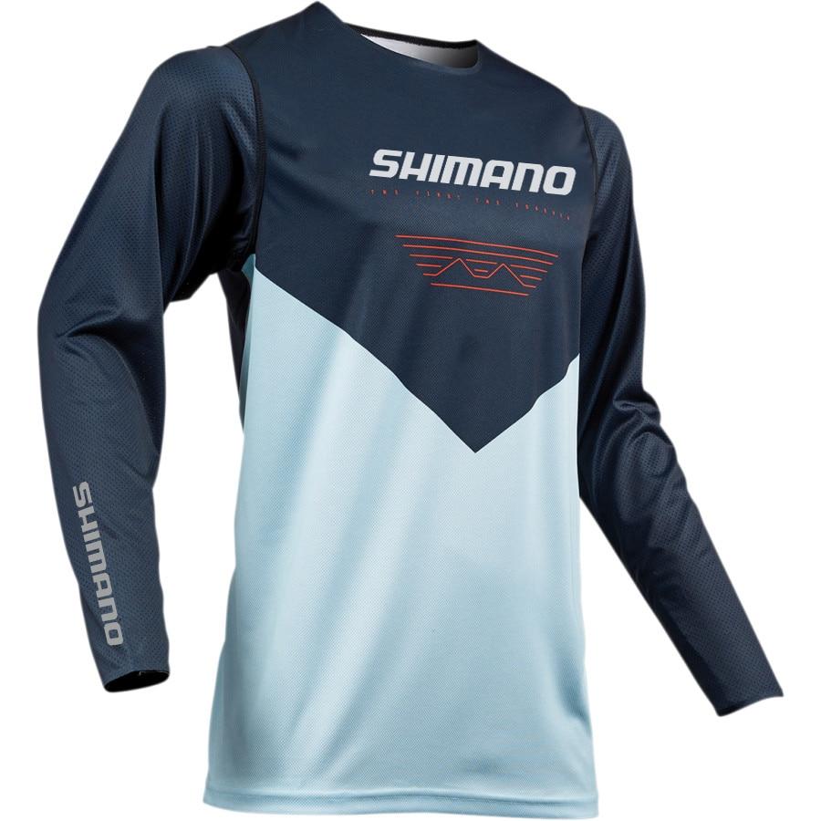 Shimano Men Fishing Shirt Thin Breathable Hygroscopicity Quick Dry Anti UV Fishing Clothing XS 5XL Jacket