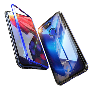 Image 2 - מקורי BOBYT מתכת מקרה עבור Huawei Honor צפה 20 V20 ברור מזג זכוכית & אלומיניום פגוש כיסוי עבור הכבוד להציג 20 View20 V20