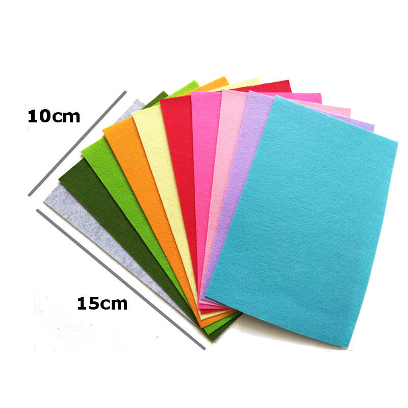 4 Pack Soft Craft Sewing Fabric BUY 3 GET 1 FREE BABY BLUE A4 Felt Sheets