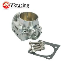 VR RACING NEW THROTTLE BODY FOR MITSUBISHI LANCER EVO 1 2 3 4G63 TURBO S90 THROTTLE