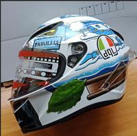 new 2019 dql motor motorcycle hat Full Face helmet with lens safety helmet ECE helmet