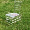 Свадебный банкет стул отель Прозрачный кристалл стул
