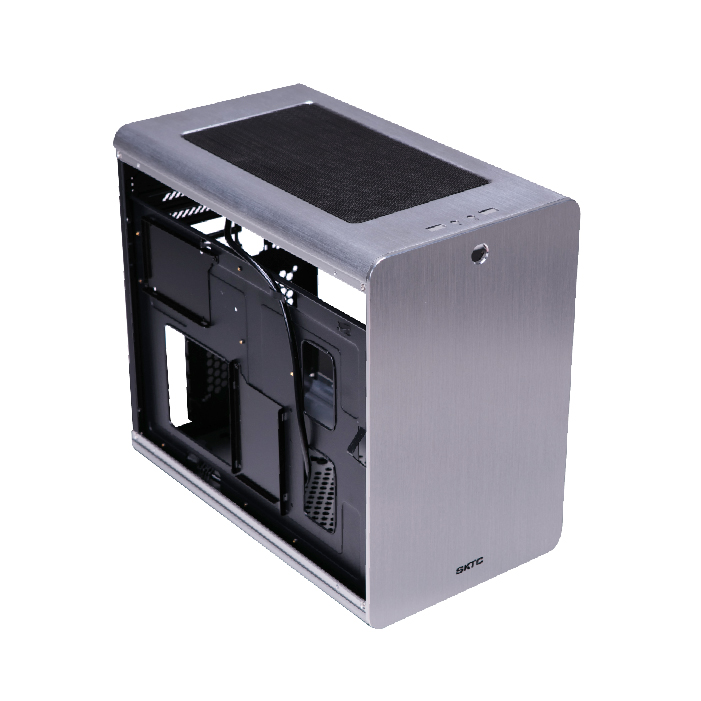 cemo Q3 aluminum chassis Small Mini ITX MicroATX Computer Case HTPC top line game small chassis new small aluminum chassis mini pc lbox 2840