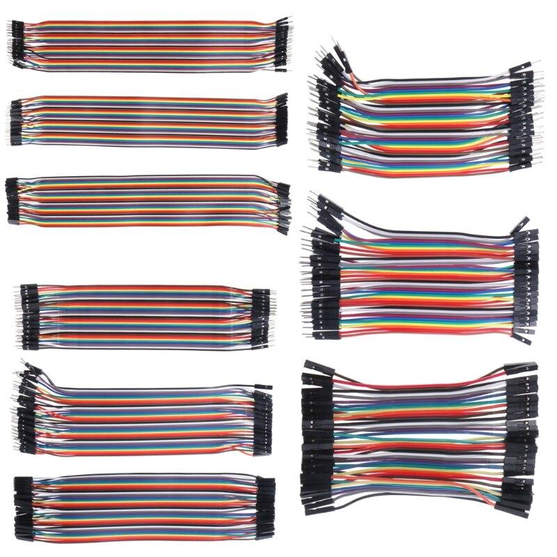 F-F Jumper Breadboard Wire GPIO Ribbon M-F 10 20 40pcs Dupont Cables All 3 M-M
