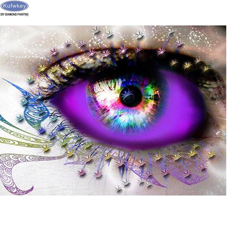 3d diamond embroidery Magic beauty,eyes,5d diy diamond painting Cross Stitch full drill Rhinestone mosaic home decoration gift