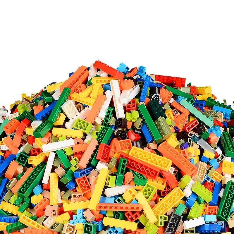 Bricks DIY Building-Blocks-Sets Educational-Toys Legoings City-Creator Classic Colorful