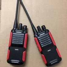 2 pces baofeng BF 999S rádio em dois sentidos 1800mah bateria li ion 16chl fácil de operar interfone tansceiver para a segurança walkie talkie