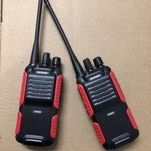 2 stücke Baofeng BF 999S two way radio 1800mAh li ion batterie 16CHl einfach zu bedienen Sprech Tansceiver für Sicherheit walkie talkie