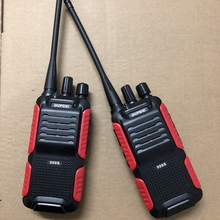 2pcs Baofeng BF 999S two way radio 1800mAh li ion battery 16CHl easy to operate Interphone Tansceiver for Security walkie talkie