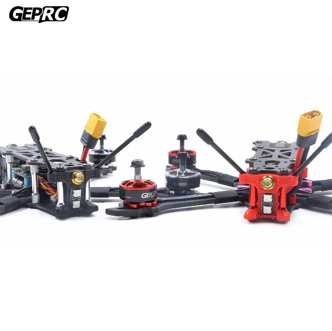 GEP GEPRC Mark2 Mark 2 Freestyle kit quadro de fibra de carbono FPV Blheli-s 40A F4 flight control 5.8G VTX