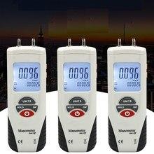 HT-1895 Digital Manometer Air Pressure Meter Air Pressure Differential Gauge Manometro Manifold