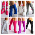 2015 Hot High Quality 30Pairs/Lot Dolls Accessories  Plastic  Boots Shoes For  Doll Party